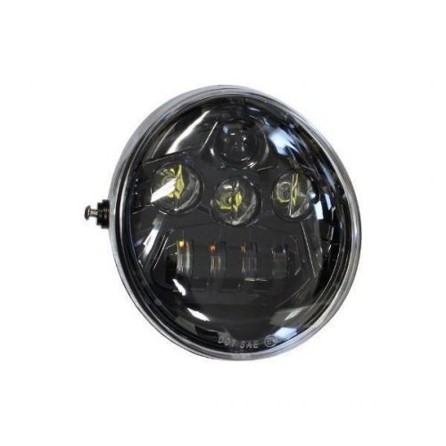 "Harley-Davidson Black LED Headlight Kit V-Rod ""Night Ride"""