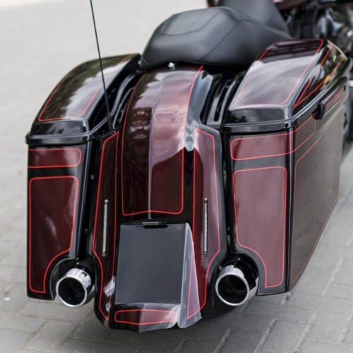 Harley-Davidson Bagger Tail Lights With A Bracket Mono kit (DOT and E-Approved)