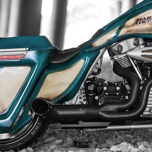 "Harley-Davidson Stretched Extended Side Covers 09-13 ""FBI"""