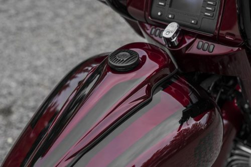 """Harley-Davidson Gas Tank Console For 6 Gallon 08-19 """"Wide Fat"""""""