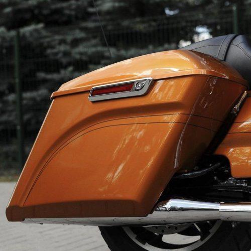 "Harley-Davidson 5"" Stretch-Down Extended Bagger Saddlebags 14-19"