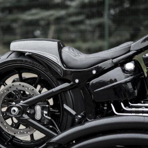 "Harley-Davidson Softail Solo Seat Rear Fender ""Fat Racer"" 18-19 Breakout, Fatboy"