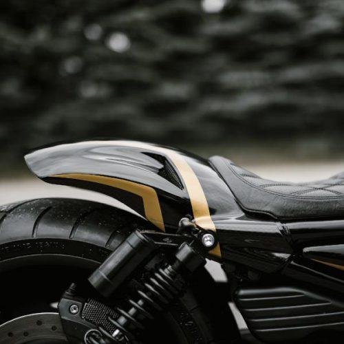 Harley-Davidson V-ROD Custom Rear Fender 07-17 Smooth Oval