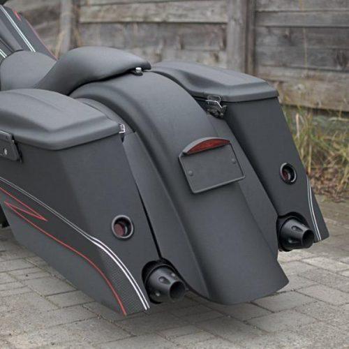 "Harley-Davidson Bagger Rear Fender 96-08 ""Chuppa Style"""