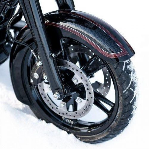 """Harley-Davidson 19"""" Front Wrap Fender Bagger 14-19 All Touring """"Competition Series"""