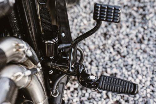 V-Rod Master Brake Reservoir Relocation Kit