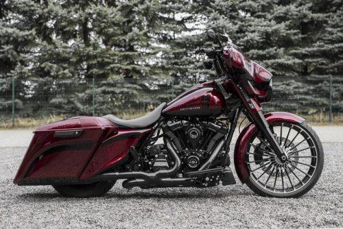 08-19 Harley-Davidson Bagger Touring Rear Shock Lowering Kit