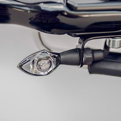 Harley-Davidson Front Turn Signal Relocation Brackets 8MM