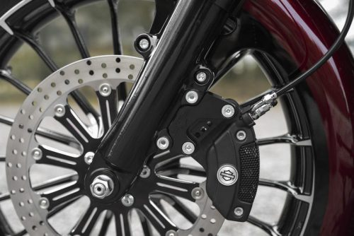"Harley-Davidson Bagger Touring 08-19 Brake Caliper Extension Brackets 13"" Rotors"