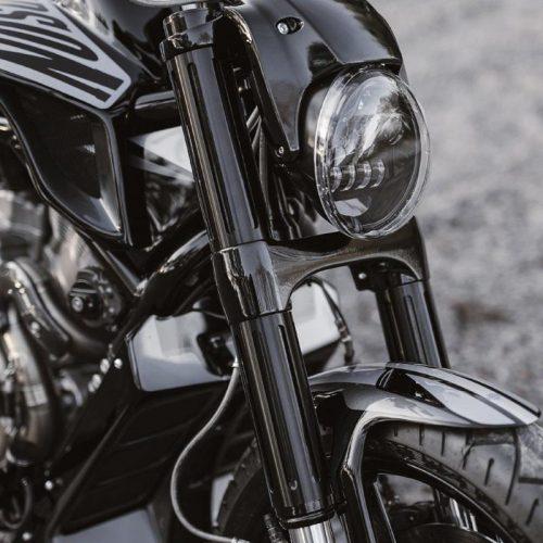 Harley-Davidson Satin Anodized Fork Cover Kit for V-Rod Muscle