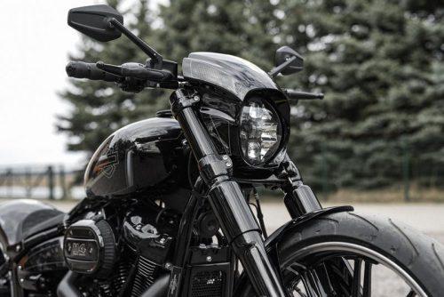 "Harley-Davidson ""Aggressor"" Series Softail Breakout Full fork Cover Set 18-19"