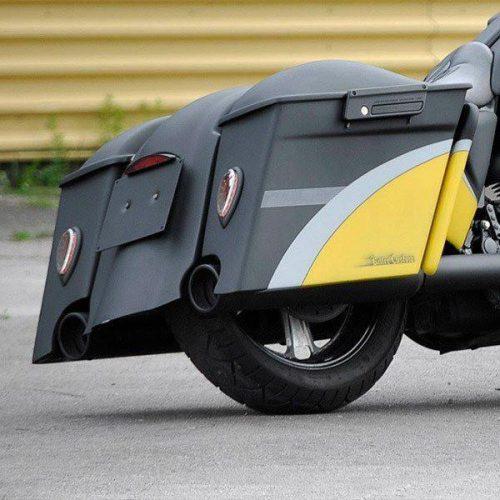 "Harley-Davidson Hard Bags Extensions 4"" 96-13"