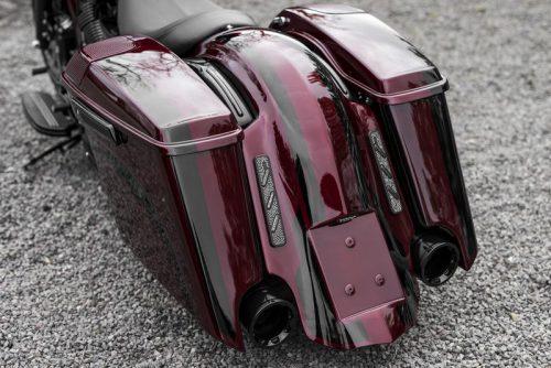 Harley-Davidson Extended Bagger Rear Fender for German Registration Plate 09-19