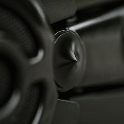 "Harley-Davidson All V-Rod Swingarm Pivot Cover Kit Black Anodized ""Spyker"""