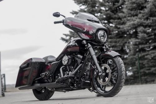 "Harley-Davidson 7"" Headlight ""Daymaker"" - Black Led with Position Light"