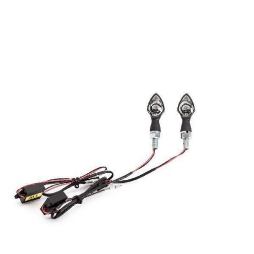 Top-line Black Led Universal Turn Signals DOT and E-Approved