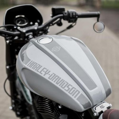 Harley-Davidson Sportster Gas Tank Cover and Console Kit Tear-Drop