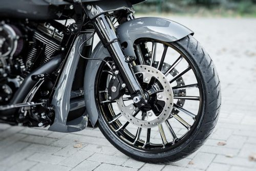 """Harley-Davidson 21"""" Front Wrap Fender Bagger 14-19 All Touring """"Competition Series"""