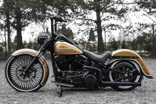 """Harley-Davidson 23"""" Front Wrap Fender 96-13 All Touring """"Competition Series"""""""