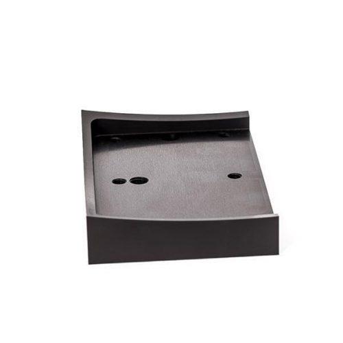 Universal Fender Bracket Mount For Licence Plate (Black)