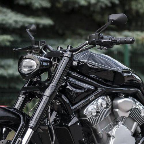 Harley-Davidson Black Street-Fighter Bar