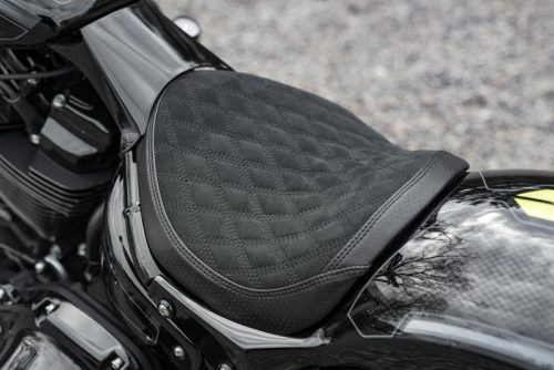 "Harley-Davidson Softail Solo Seat Rear Fender ""Short Oval"" 18-19 Breakout, Fatboy"