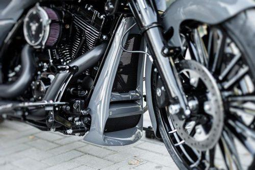 "Harley-Davidson ""Aggressor"" Series Touring Chin Spoiler 10-16"