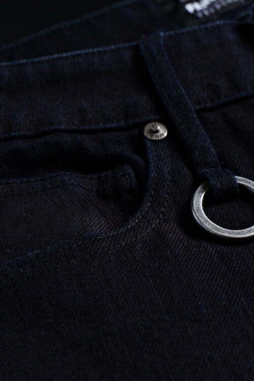 STEEL BLACK 9 Motorcycle Jeans for Men – Slim-Fit Dyneema®