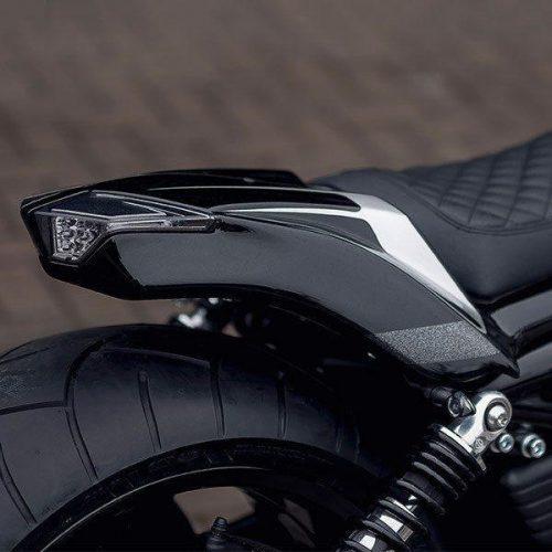 "Harley-Davidson V-ROD Custom Rear Fender 07-17 ""Snake"""