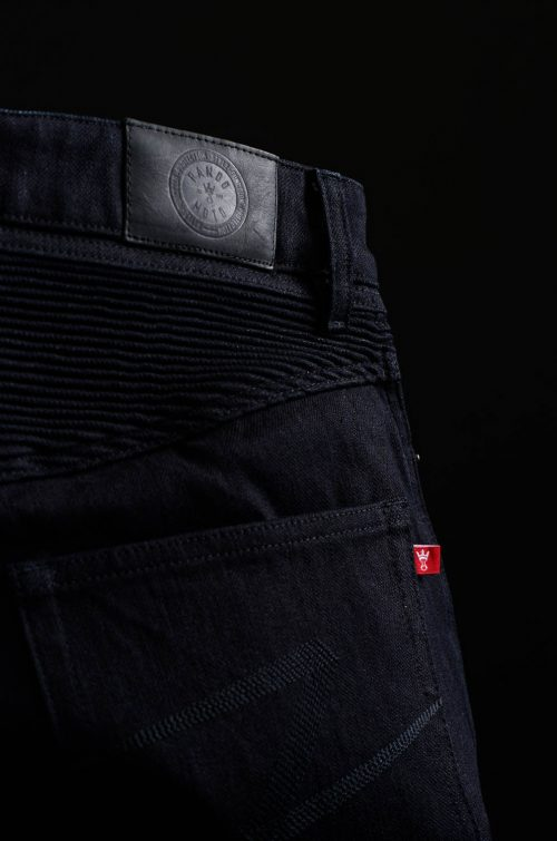 Karl Steel Black – Men's Single Layer Dyneema® Motorcycle Jeans