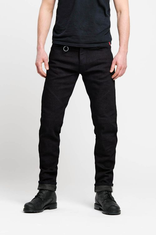 Steel Black – Men's Slim-Fit Dyneema® Motorcycle Jeans